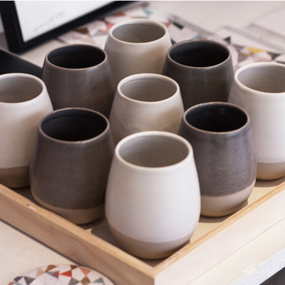 coffee shots ceramique design geraldine k ceramiste