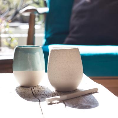coffee shots ceramique design geraldine k ceramique