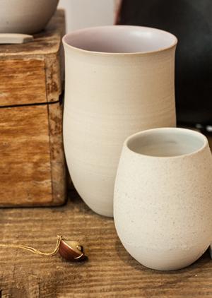 gobelets fins ceramique design geraldine k ceramiste