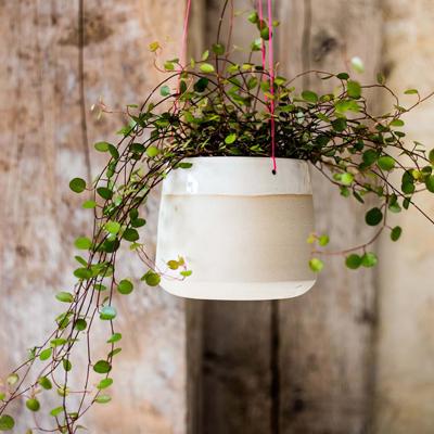 geraldine k ceramiste suspension florale