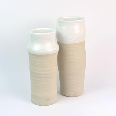 Geraldine K ceramiste - vases tubulaires