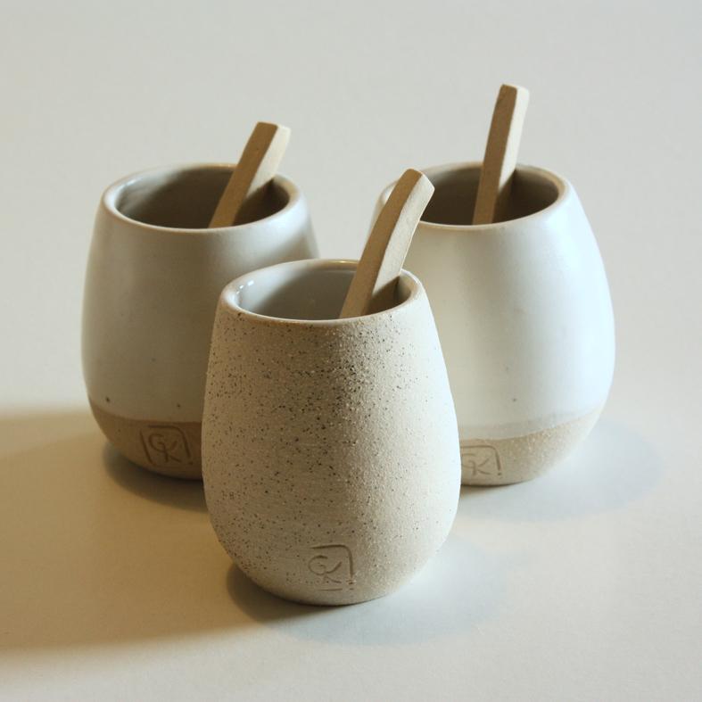gobelets ceramique design geraldine K ceramiste