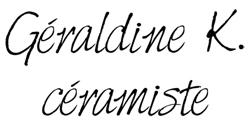 Geraldine K., ceramiste