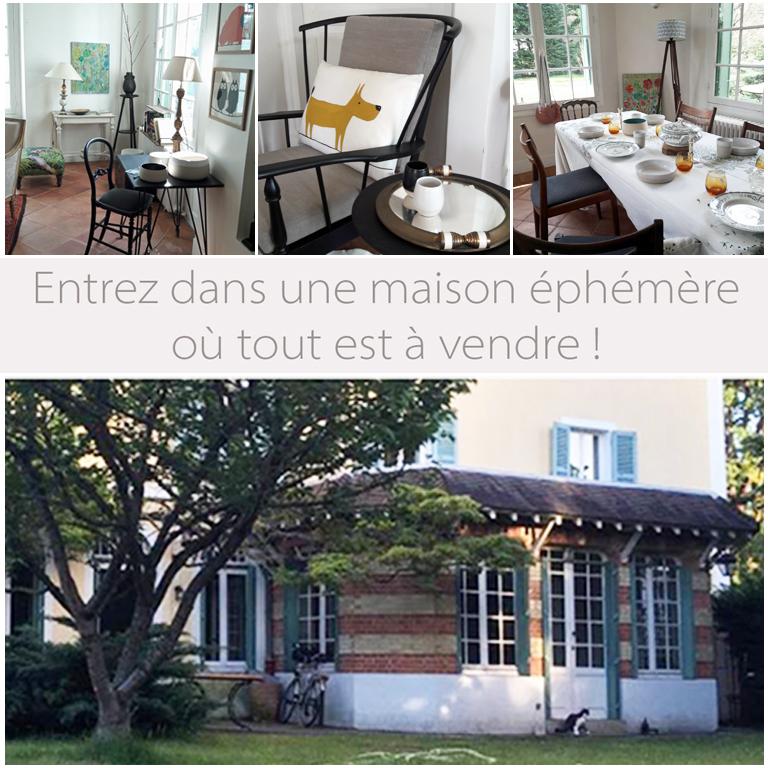 maison éphémère LeVésinet