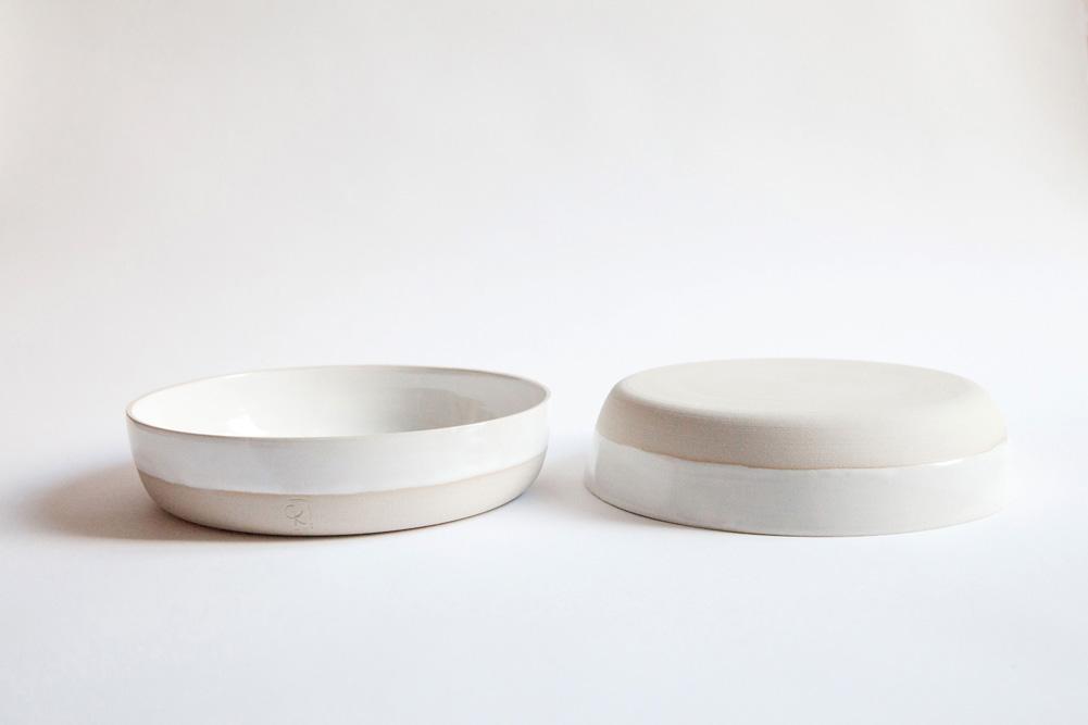 Geraldine K ceramiste bols assiettes empilables