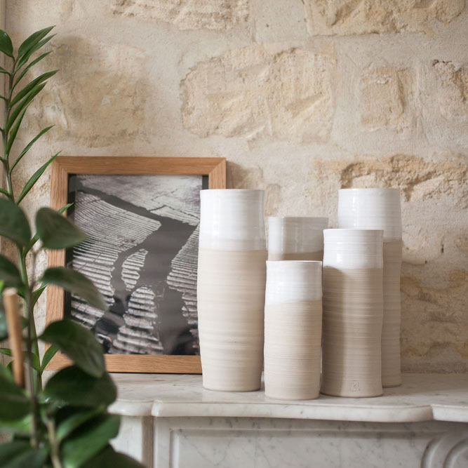 vases ikebana par Géraldine K. Céramiste